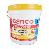 Cloro Granulado - Genco - 3 Em 1 - Balde 10 Kg
