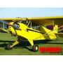 Planta Avião Piper J-3 Cub Escala 1/3 Wingspan 3,66 Metros