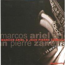 Cd Diplomatie - Marcos Ariel & Jean Pierre Zanella - Novo***