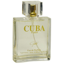 Tester Perfume Gold 100ml Edp Cuba Paris Frete Gratis