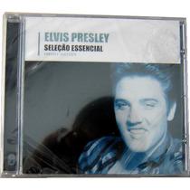 Elvis Presley 16 Musicas Seleção Essencial Cd Original Novo