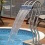 Cascata Para Piscinas - Aço Inox 304 - Triplo X - 1,00 M