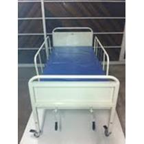 Locação Cama Hospitalar Manual + Suporte De Soro - R$ 110,00