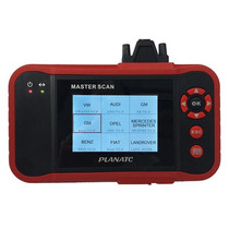 Scanner Automotivo Portátil Master Scan/i Planatc