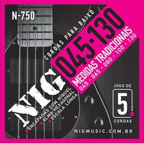 Corda / Encordoamento Nig N750 Baixo - Contrabaixo 5 Cordas