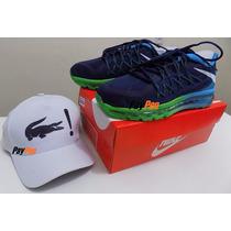 Nike Air Max 2015 100% Original Pronta Entrega Grátis Boné