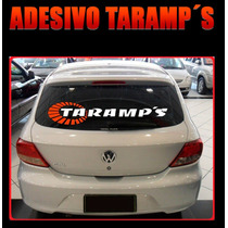 Adesivo Tuning Parabrisa Taramps Som Automotivo