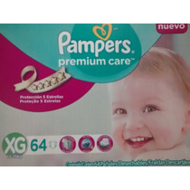 Fraldas Pampers Premium Care, Xg