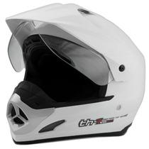 Capacete Moto Cross Pro Tork Th1 Helmet Vision Trilha Preto