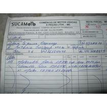 Carcaça Do Motor Cb 750 Four Ano 74 Com Nota Fiscal