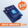 Playstation Network Card Cart�o Psn $50 D�lares Usa Imediato