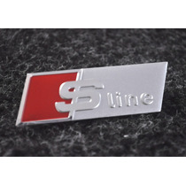 Emblema Audi Sport S Line - A1 A3 A4 A6 R8 Q5 Q7 - Painel