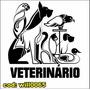 Adesivo Veterinário Animais Cão Gato Pato Arara Will0065