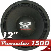 Auto Falante Woofer 12 Ultravox Pancadão 1k5 1500 Rms 8 Ohms