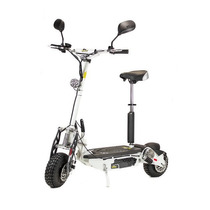 Patinete Scooter Elétrica Two Dogs De 1000w 48v Branca