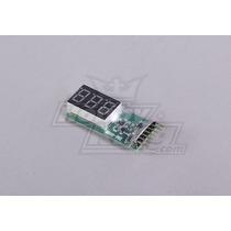 Monitor De Voltagem De Bateria Li-po 2-6s