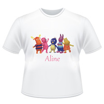 Camiseta Infantil The Backyardigans