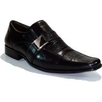 Sapato Social Masculino Gofer Couro Franca Dhl Calçados
