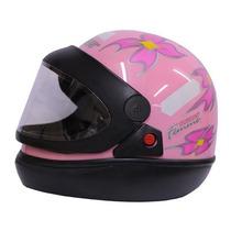 Capacete Moto Femme Tamanho 60 Rosa - San Marino