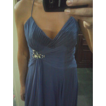 Vestido De Seda Para Festa Madrinha/ Casamento Lindo