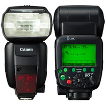 Flash Canon Speedlite 600ex Original + Nfe +brindes