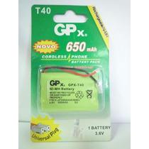 Bateria Para Tel. Sem Fio Gpx T-40 - Promoção