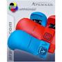Luva Karate Arawaza Wkf-wkf Approved M Azul