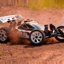 Carro Hpi Buggy Pulse 4.6 Nitro 1/8 2.4ghz 107020 Combustão