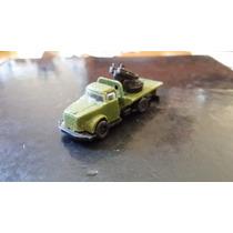 Antiga Miniatura De Caminhão Plástico - Pevi !!!