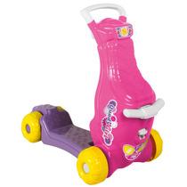 Quadygirl Brinquedo 2 Em 1 Patinete E Carrinho 913 Calesita