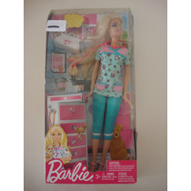 Barbie Quero Ser Veterinária Mattel