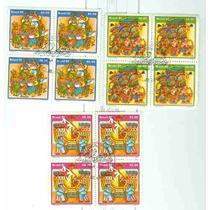 58-3 Quad.selos Comem.c/ Carb.1ºdia C-1214/1216- Brasil