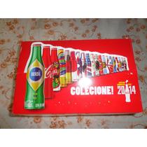 Coleçao Completa Mini Garrafinhas Coca Cola Copa 2014