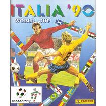 Álbum De Figurinhas Digitalizado Copa Do Mundo 1990 Panini