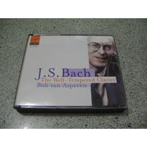 Cd - J S Bach The Well Tempered Clavier Bob Van Asperen 4 Cd