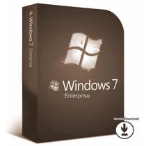 Licença / Chave / Serial / Windows 7 Enterprise Original ®