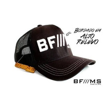 Bone Bf/ms Bfms Bf Ms Bf///ms Preto Bran Cinch Tiao John Jao