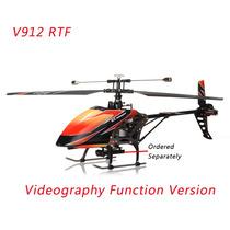 Helicóptero Wltoys V912 4ch Com Câmera Inclusa Maior Q V911