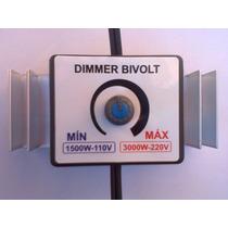 Dimmer-dimer-controlador De Potência-1500w E 3000w-bivolt
