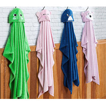 Cobertor Manta Infantil Para Bebê Com Capuz 1,00m X 1,20m