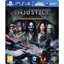 Injustice Gods Among Us Ultimate Edition Psn Ps4 Secundaria