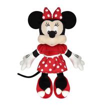 Boneco Pelúcia Disney Minnie Vestido Vermelho - Original