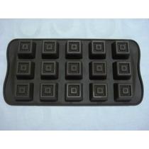 Forma De Silicone Chocolate Tablete Bolos Doces Festas Gelo