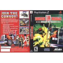 18 Wheeler American Pro Truck - Playstation 2 Paty Games.