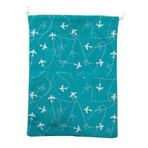 Travel Bag Lingerie Aviões Azul