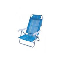Cadeira De Praia Mor Reclinável Sol De Verão Mania Virtual