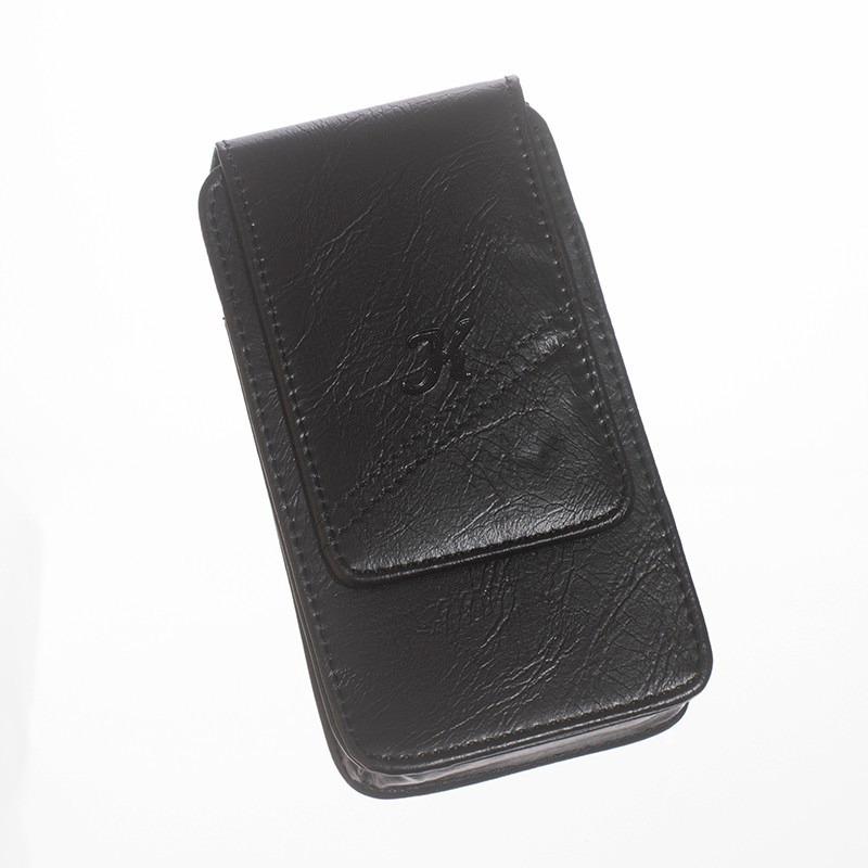 Capa Capinha Em Couro Com Clip De Cinto Motorola Razr D1