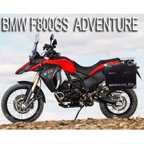 Malas Laterais Para Bmw F800 Gs Adventure - 35l /28 Litros