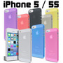 Capa Case 0.5mm Iphone 5 / 5s Ultra Fina Slim Luxo