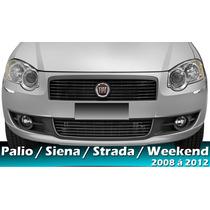 Grade Parachoque Palio 10 11 Siena 08 09 G4 Strada 09 10